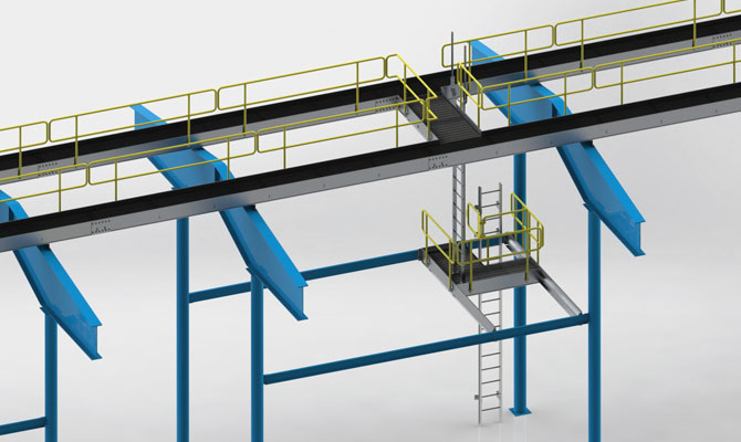Engineered Aluminum Catwalk System