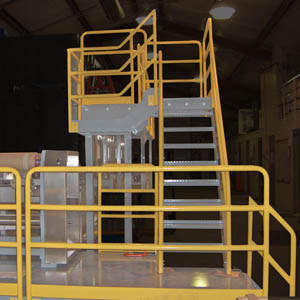 Custom Steel Equipment and Operator Platform