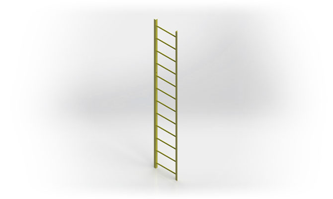 Fixed Industrial Ladder