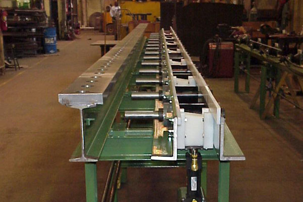 Fabrication and Design - Steel Machine Frame
