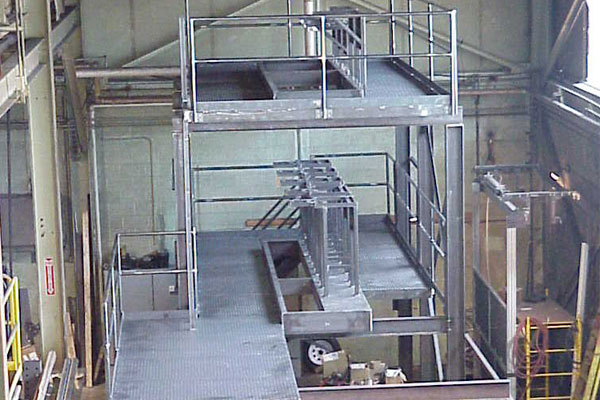Fabrication and Design - Steel Platform