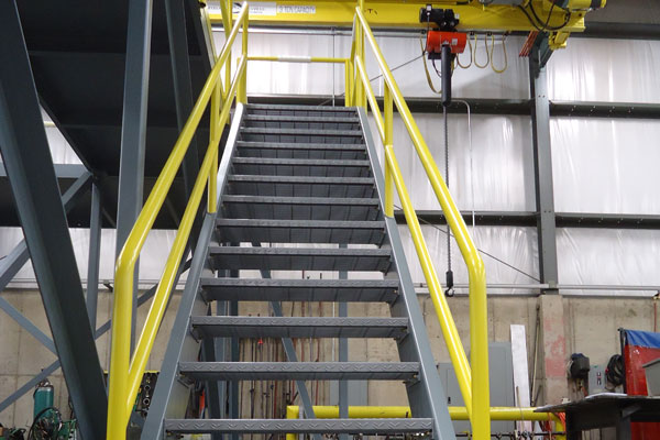 Fabrication and Design - Steel Stair